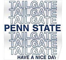 PSU Tailgate Poster
