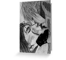 Xena Gabrielle Kiss Greeting Card
