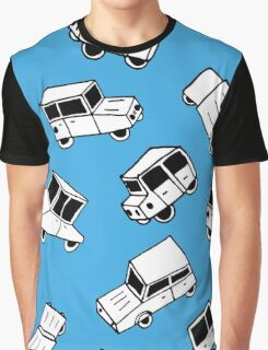 Hand drawn cute cars Graphic T-Shirt