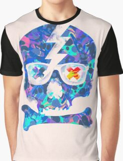 Psychedelic Skull by Pepe Psyche Graphic T-Shirt