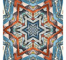 Abstract Geometric Structures Photographic Print