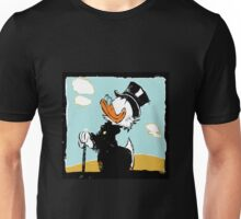 Uncle Scrooge on landscape Unisex T-Shirt
