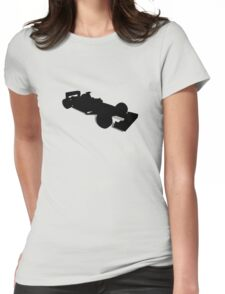 Racing Car 2 Womens Fitted T-Shirt