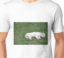 Sleeping White Unisex T-Shirt