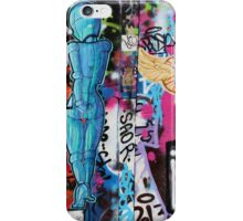 Blue Girl iPhone Case/Skin