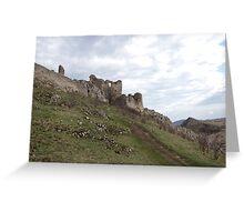 Ruins Of Glory Greeting Card
