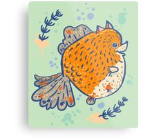 Pomfish Metal Print