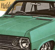 HR Holden Station Wagon - 50th Anniversary - Green Sticker