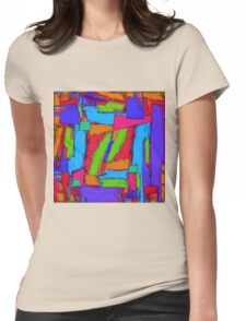 Sequential steps Womens Fitted T-Shirt