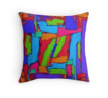 Sequential steps Throw Pillow