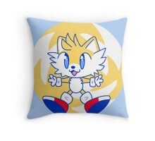 Tails Throw Pillow