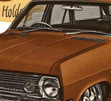 HR Holden Station Wagon - 50th Anniversary - Brown Sticker