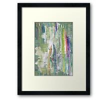 Fairy Tale about Forest - Original Wall Modern Abstract Art Painting Framed Print
