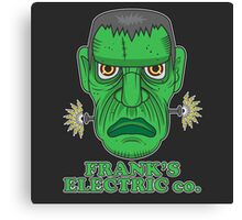 Frank's Electric Company Canvas Print