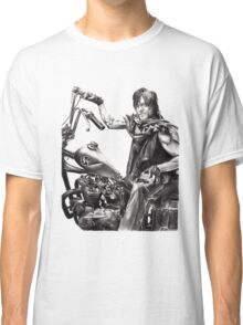 Daryl on his motorcycle Classic T-Shirt