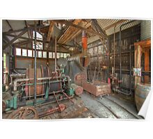 The Workshed - HDR Poster