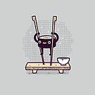 Sushi Stilts  by Randyotter