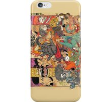 one piece traditional japanese alternate iPhone Case/Skin