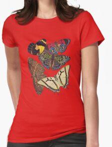 TIR-Butterfly-7 Womens Fitted T-Shirt