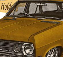 HR Holden Station Wagon - 50th Anniversary - Gold Sticker