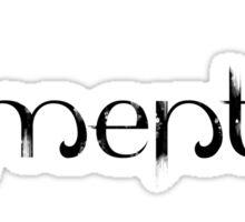 Element 8 - Black Sticker