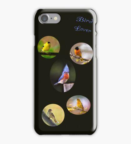 Bird lover iPhone Case/Skin