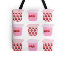 Strawberry Yogurt Tote Bag