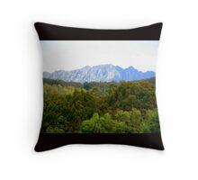 Mount Roland, Tasmania Throw Pillow