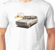 HR Holden Station Wagon - 50th Anniversary - White Unisex T-Shirt