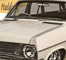 HR Holden Station Wagon - 50th Anniversary - White Sticker