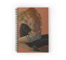 Clary and Jace Spiral Notebook