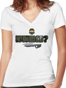 WWMCD? Women's Fitted V-Neck T-Shirt