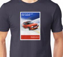 Peugeot 205 GTI Classic Car Advert Unisex T-Shirt