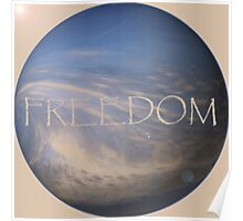 FREEDOM Sphere - NATURAL  Poster