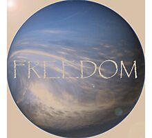 FREEDOM Sphere - NATURAL  Photographic Print