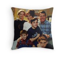 MITM Season 1 Cast Photo Throw Pillow