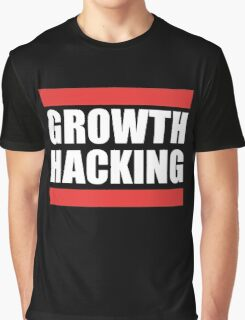 Growth Hacking Marketing Technique Graphic T-shirt Design Graphic T-Shirt