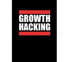 Growth Hacking Marketing Technique Graphic T-shirt Design Photographic Print