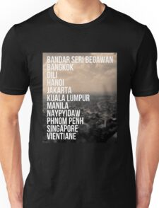 Southeast Asia Capital Cities Unisex T-Shirt