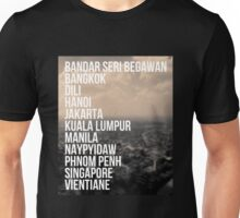 Southeast Asia Capital Cities Unisex T-Shirt