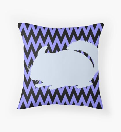 Chinchilla Throw Pillow