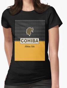 Cohiba Habana Cuba Womens Fitted T-Shirt