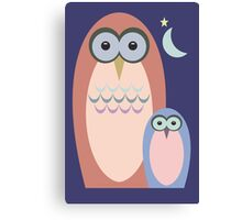 NIGHT OF THE OWLS Canvas Print