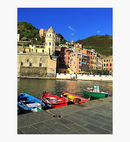 Vernazza Coast Photographic Print