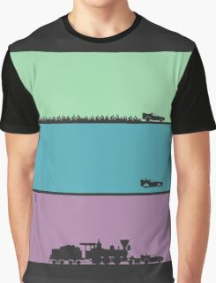 Back to the Future Trilogy Graphic T-Shirt