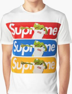 Supreme Kermit Graphic T-Shirt