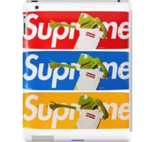 Supreme Kermit iPad Case/Skin