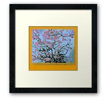 Vincent Van Gogh Bastardisation (Cherry blossom) Framed Print