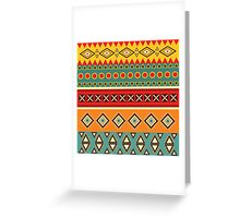 Barefooted in sarong Greeting Card