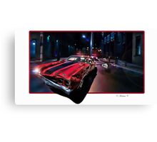 Jack Reacher Canvas Print